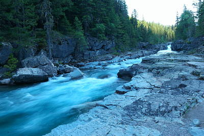Snow Melt Photograph - The View Of A River by Jeff Swan