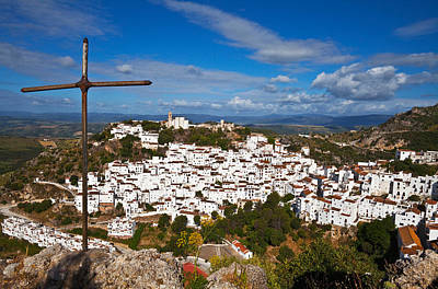 Casares Photograph - The Village Of Casares, Malaga by Panoramic Images