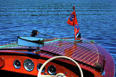 Cri Photograph - The Vintage Chris Craft - 1958 by David Patterson