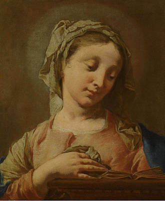 Painting - The Virgin Annunciate by Francesco Capella