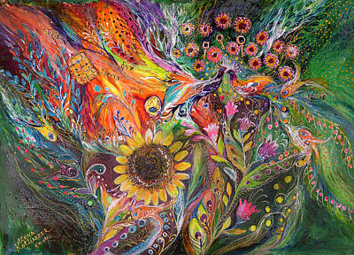 The Voice Of Spring Print by Elena Kotliarker