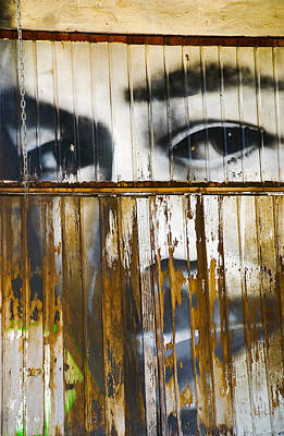 Mexico Photograph - The Walls Have Eyes by Skip Hunt
