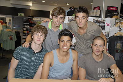Music Artist Photograph - The Wanted by Jenny Potter