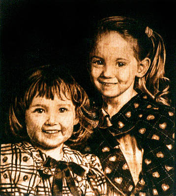 Pyrography - The Warmoth Girls - 1996 by Dino Muradian