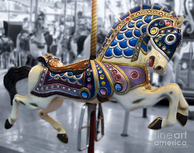 Life Is Beautiful Photograph - The Warrior Steed by Colleen Kammerer