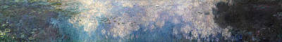 Lily Painting - The Water Lilies, The Clouds by Claude Monet