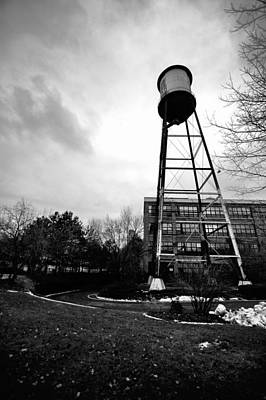 Syracuse Photograph - The Water Tower by George Patterson