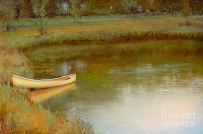 Painting - The Water's Edge by Lori  McNee