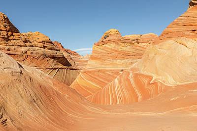 The Wave In Navajo Sandstone Print by Tim Grams