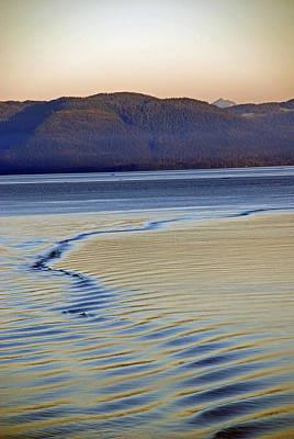 The Waves Print by Carol  Eliassen