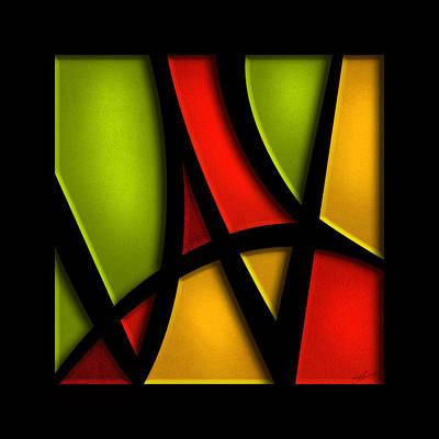 Christian Artwork Mixed Media - The Way - Abstract by Shevon Johnson