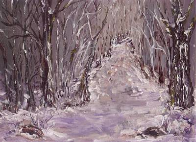 Painting - The Way Home by Mary Sedici