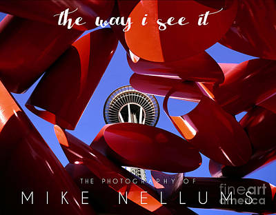 Book Jacket Design Photograph - The Way I See It Coffee Table Book Cover by Mike Nellums