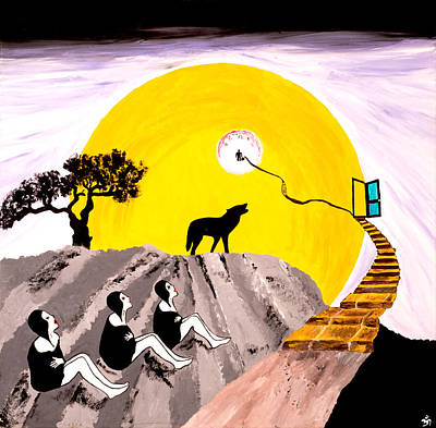 The Way To Happiness Print by John Alekseev