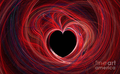 The Way To My Heart Print by Kaye Menner
