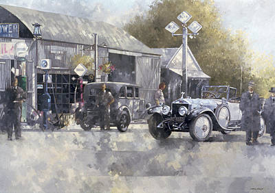 Car Painting - The Way We Were by Peter Miller
