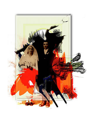 The Wedding Picture Print by Aniko Hencz