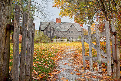 The Whipple House Print by Susan Cole Kelly