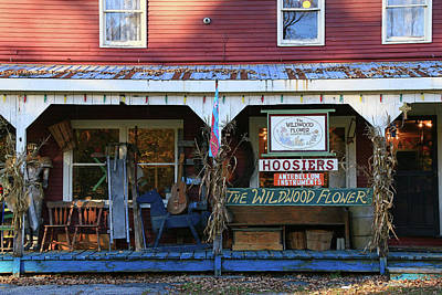 Vermont Country Store Photograph - The Wildwood Flower Country Store by Allen Beatty
