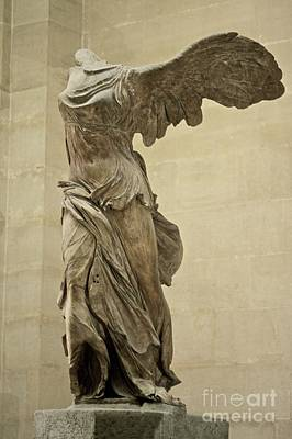 The Winged Victory Of Samothrace Print by Chris  Brewington Photography LLC