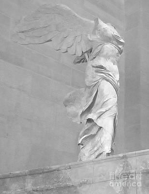 The Winged Victory Of Samothrace Print by Lilliana Mendez