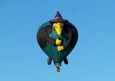 Hot Air Balloon Photograph - The Witch by Adrienne Wilson