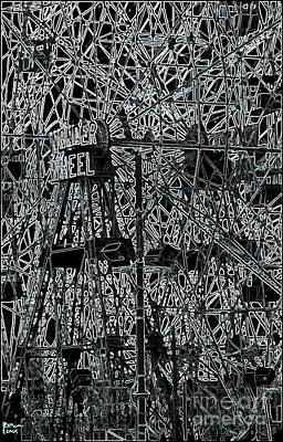 The Wonder Wheel Print by Jeff Breiman