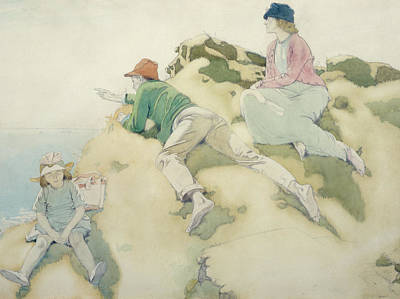 The Yacht Race Print by Sir William Orpen