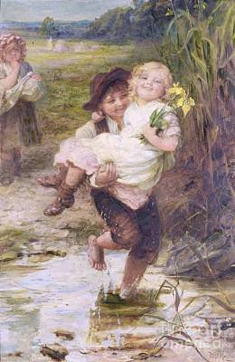 The Young Gallant Print by Frederick Morgan