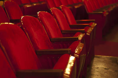 Photograph - Theater Seating by Carolyn Marshall