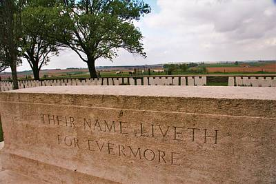 Print featuring the photograph Their Name Liveth For Evermore by Travel Pics
