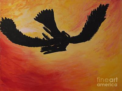 Then Painting - Then They Just Flew Away by Catalina Walker