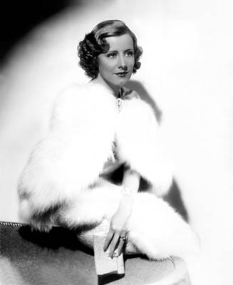 Publicity Shot Photograph - Theodora Goes Wild, Irene Dunne, 1936 by Everett