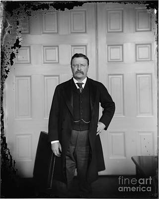 Theodore Roosevelt In His Rough Riders Uniform Print by Celestial Images