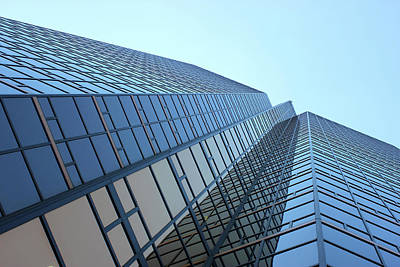 Things Are Looking Up Southfield Michigan Town Center Building Perspective Print by Design Turnpike