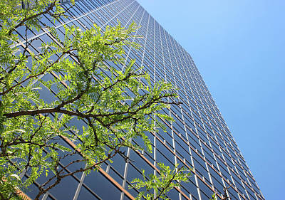 Things Are Looking Up Version 2 Southfield Michigan Town Center Building Perspective Print by Design Turnpike