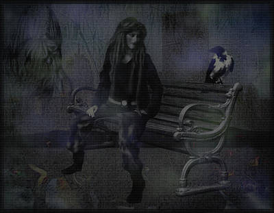 Magpies Digital Art - Things We Are Not by Mimulux patricia no