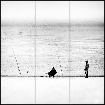 Triptych Photograph - Things We Never Did by Paulo Abrantes