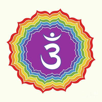 Ajna Digital Art - Third Eye Chakra by Gaspar Avila
