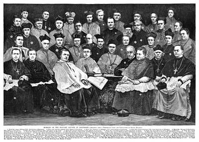 Hennessy Photograph - Third Plenary Council, 1884 by Granger