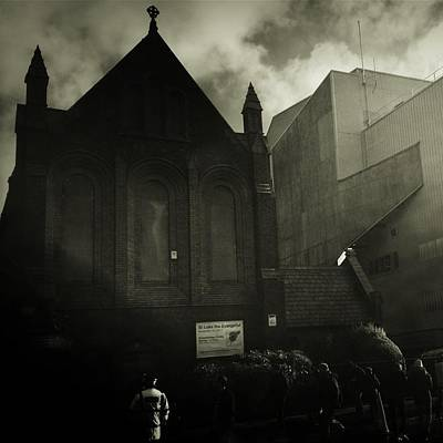 Footie Photograph - This Is My Church,goodison Park by Janan Yakula