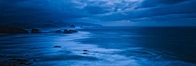 This Is Oregon State 11 - The Blue Hour On Cannon Beach Original by Paul W Sharpe Aka Wizard of Wonders