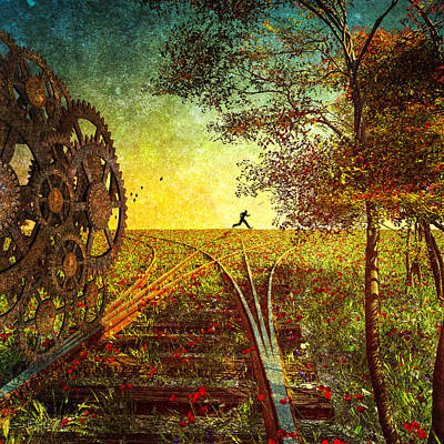 Surrealism Digital Art - This Is The Best Part Of The Trip by Bob Orsillo