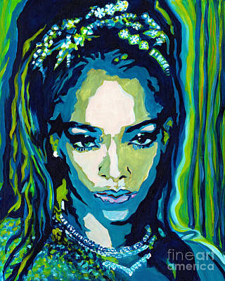 Rihanna Painting - This Is What You Came For by Tanya Filichkin