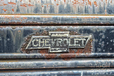 This Old Chevrolet Print by Emily Kay