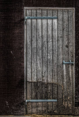 Portal Photograph - This Old Door by Odd Jeppesen