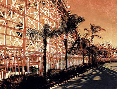 Dipper Digital Art - This World Is A Roller Coaster by Glenn McCarthy Art and Photography