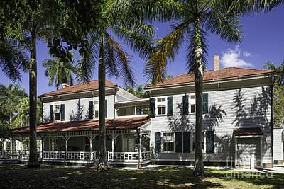 Thomas Edison Winter Home - Florida Print by Brian Jannsen