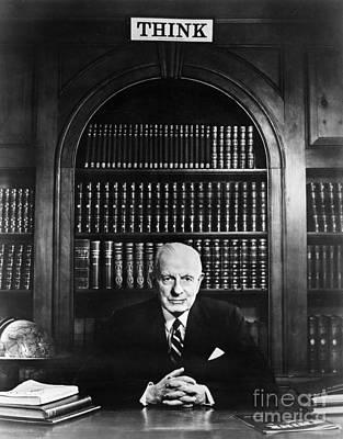 Thomas J. Watson (1874-1956) Print by Granger