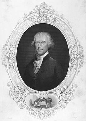 Thomas Jefferson Print by Granger